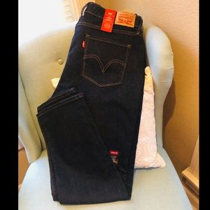 Levi's 525 Perfect Waist Straight Jeans 14 short